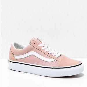Pink Old Skool Vans W8/M6.5